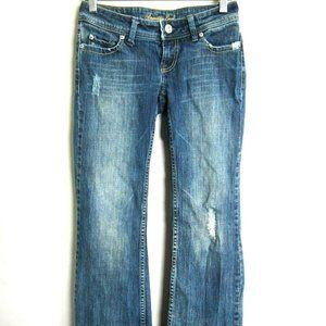 American Eagle Stretch Wide Leg Flap Pocket Jeans